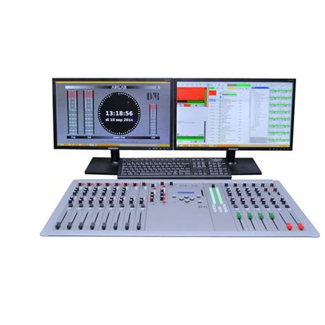 broadcast mixing console d r airlab on air radio broadcast mixing console