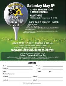 Golf Outing Flyer Template by 2012 Northview Golf Outing Signup Flyer Lo Northview