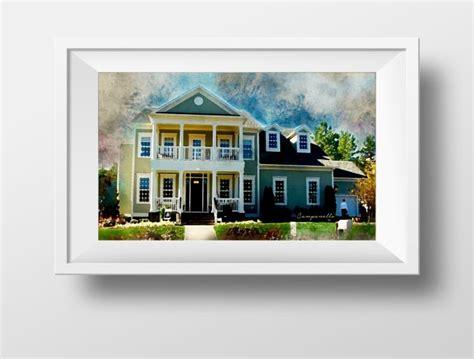 zdena 187 house portraits paint the watercolor house portrait by jeronim