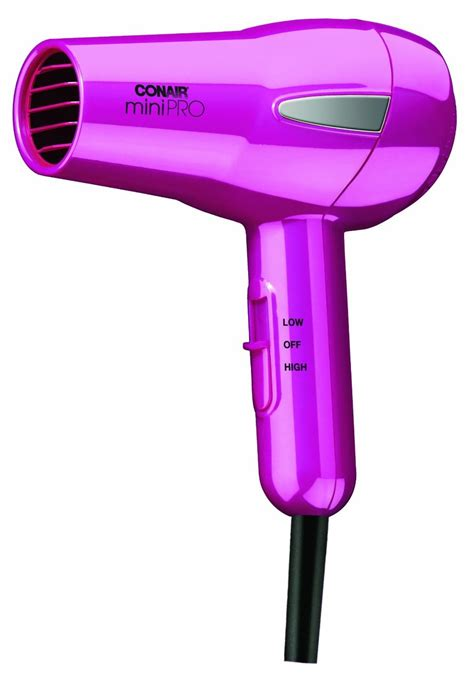 Conair Minipro Hair Dryer Review minipro by conair tourmaline ceramic hair dryer review
