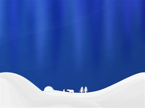 holiday powerpoint template gt gt 16 pretty winter