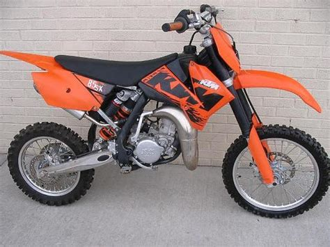 Ktm Sx 85 2007 2007 Ktm 85 Sx 17 14 Moto Zombdrive