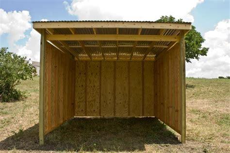 shedpa horse shelter plans