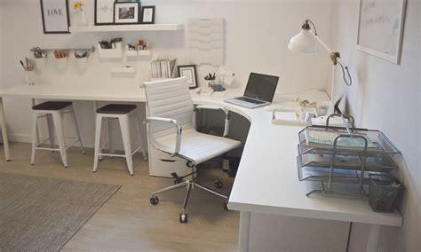 ikea linnmon corner desk the reveal home office design lynne