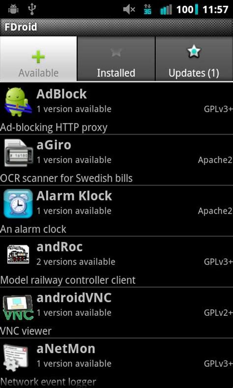 f droid apk f droid market alternativo de software libre el androide libre