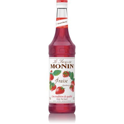Strawberry Syrup Merk Monin monin syrup strawberry 1ltr