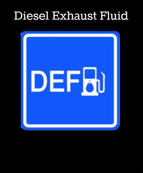 what does def fluid do def diesel exhaust fluid