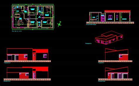 plan maison format dwg gratuit t 233 l 233 charger plan maison plain pied 123 fichier dwg
