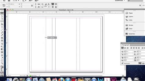 indesign trifold template creating a trifold brochure in adobe indesign
