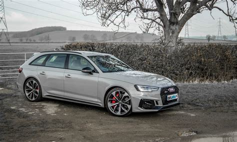 Price Of Audi Rs4 by 2018 Audi Rs4 Avant Review Carwitter