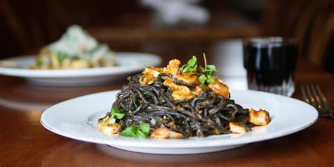 recipe ask for luigi s spaghetti nero with octopus grilled jalapeno to die for