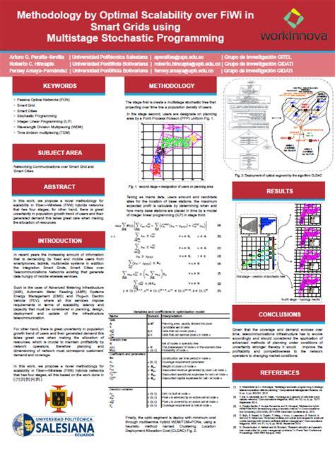 layout de poster cientifico el p 243 ster cient 237 fico recurso educativo 744452 tiching