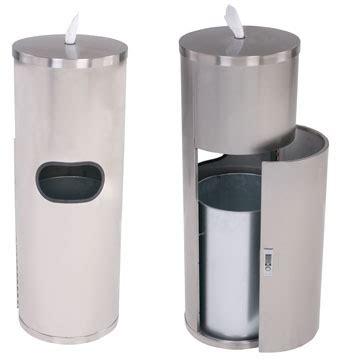gym wipes premium stainless steel standing wipe dispenser