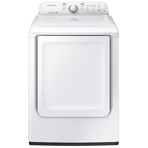 samsung dryer shop samsung 7 2 cu ft electric dryer white at lowes