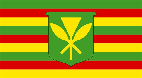 hawaii colors file kanaka maoli flag svg wikimedia commons