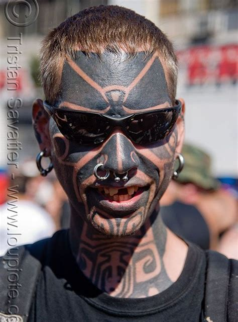 best face tattoos 1000 ideas about on