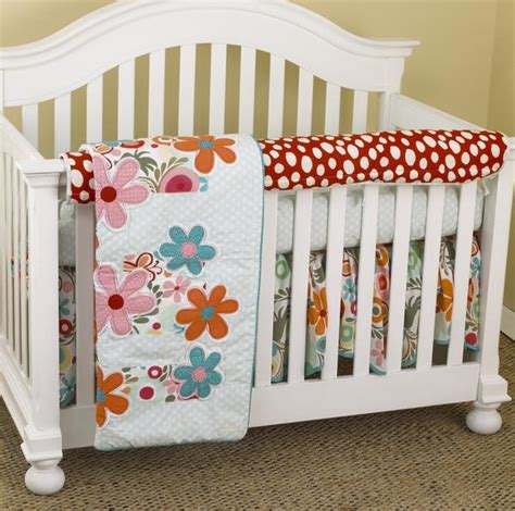 Lizzie Crib Bedding Lizzie Front Rail Cover Up Set Cotton Tale Designs