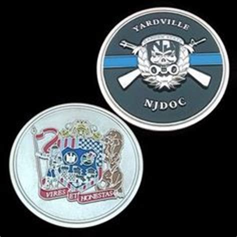 Garden State Correctional Facility by Sam S Corrections On Enforcement Coins