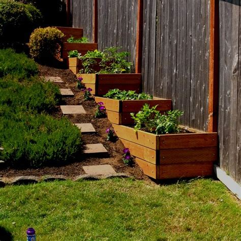 slope landscaping ideas for backyards best 25 steep backyard ideas on steep