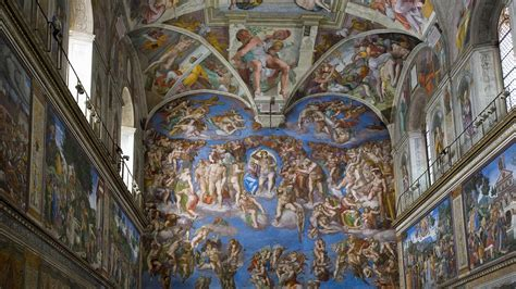 Sistine Chapel Ceiling Height by Sistine Chapel Museum Ceiling Rome Italy Wallpaper 39230
