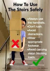 Stairs Safety by Stair Safety How To Use The Stairs Safely Occupational
