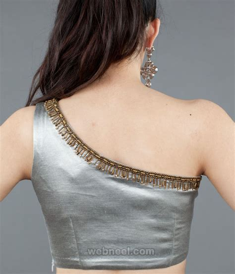 Blouse Pattern 50 different types of blouse designs patterns designer saree blouses part 3