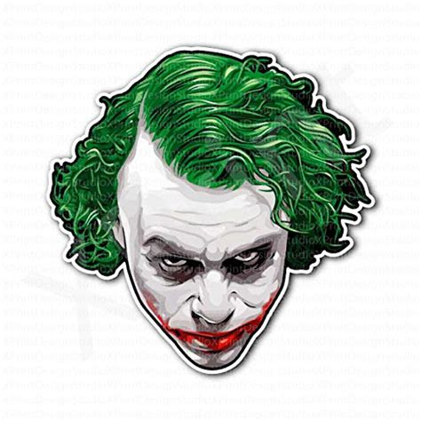 Wall Vinyls Home Decor why so serious decal sticker no background h 2 5 by l 9