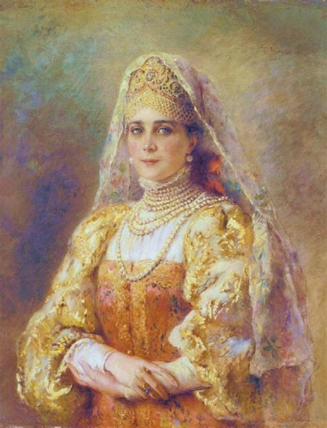 painting for princess konstantin makovsky a portrait of princess zinaida