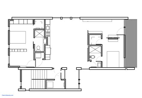 small modern floor plans simple modern house plans fresh small lake cottage house plans lake house floor plans view