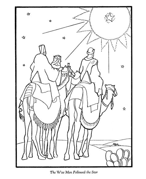 wise men coloring page coloring home