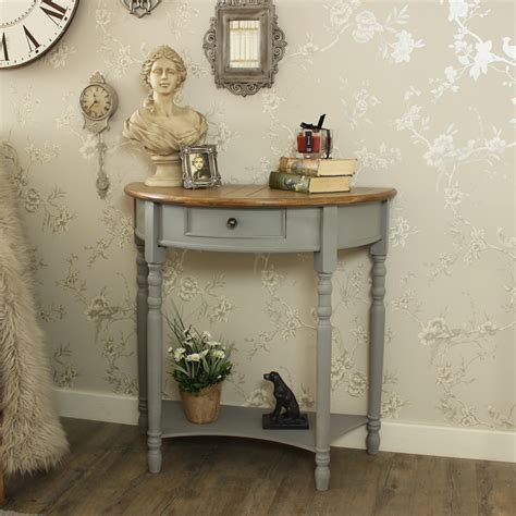 half moon console table with drawer half moon console table with drawer and shelf admiral