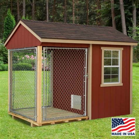 ez fit  wood dog kennel kit  windows