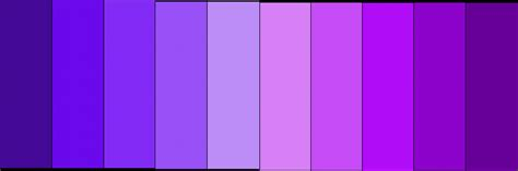 shades or purple what are different shades of purple my web value