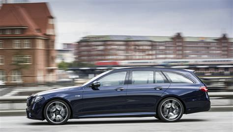 blue mercedes 2017 mercedes amg e43 estate review gtspirit
