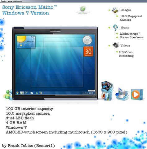 Hp Tablet Sony Ericsson sony ericsson maino tablet windows 7 version revealed