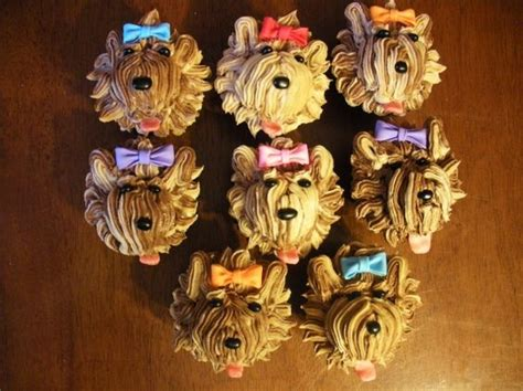 how to make yorkie cupcakes yorkie puppys and yorkie puppy on