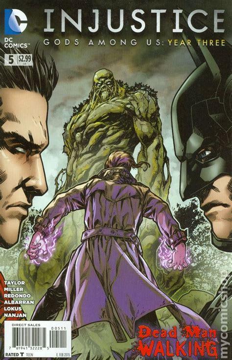 injustice books injustice gods among us year three 2014 dc comic books