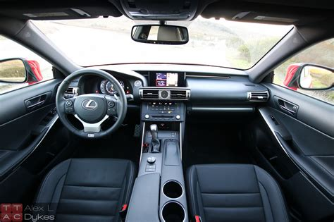 lexus suv 2016 interior 2016 lexus is 200t interior 017 the truth about cars