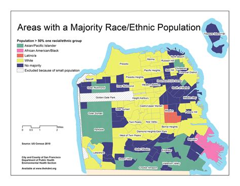 san francisco race map san francisco ethnicity map