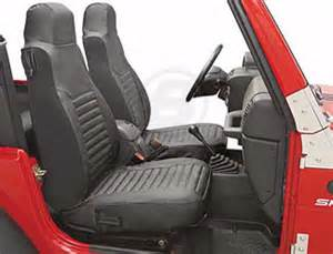 bestop front seat covers for high back buckets 2003 2006