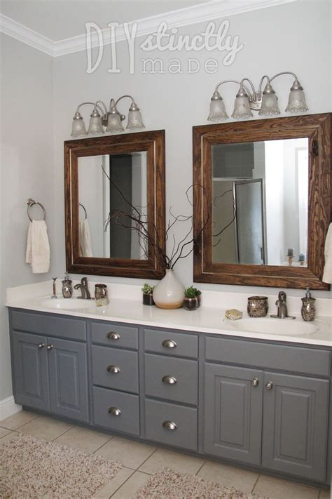 gray painted bathroom cabinets best 25 gray and brown ideas that you will like on