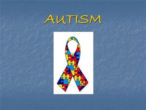 Autism Awareness Authorstream Autism Powerpoint Template Free