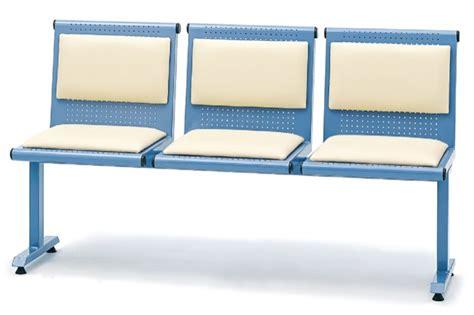 triple k upholstery triple metal waiting chair with upholstery promek medical
