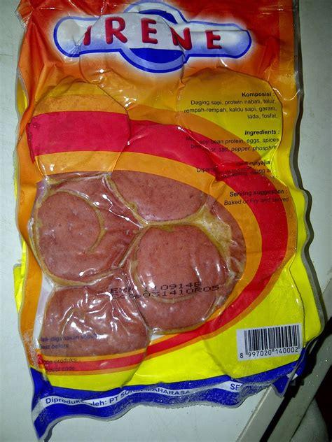 mandiri frozen food mandiri frozen food rolade sapi irene