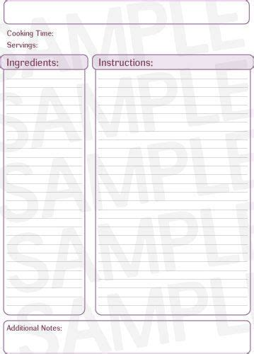 staples printable recipe cards 67 best recipe binders organization images on pinterest