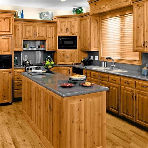 kitchen ideas with cabinets 23 remarkable unfinished pine cabinets for your kitchen
