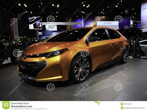 Auto Held by 2014 Toyota Corolla Furia Concept Showcased At The