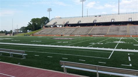 section 8 troy al troy memorial stadium section 112 rateyourseats com
