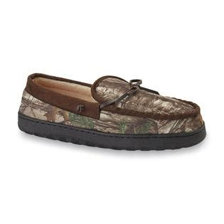 boys camo moccasin slippers route 66 s kornilius 2 moccasin slipper camouflage