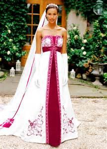 unique wedding dresses with color dresscab